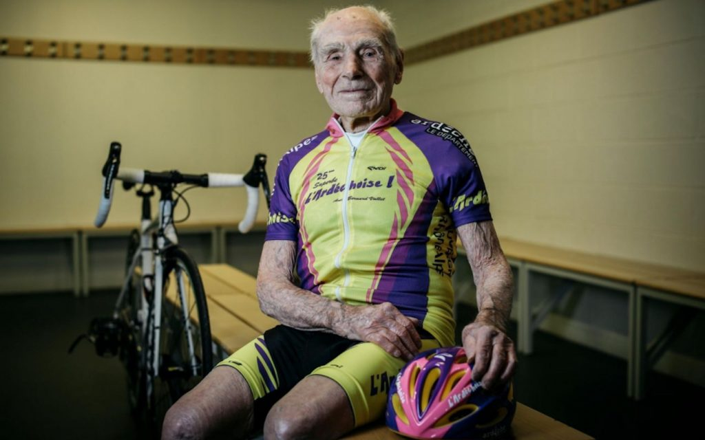 Robert Marchand, 106-year-old world record