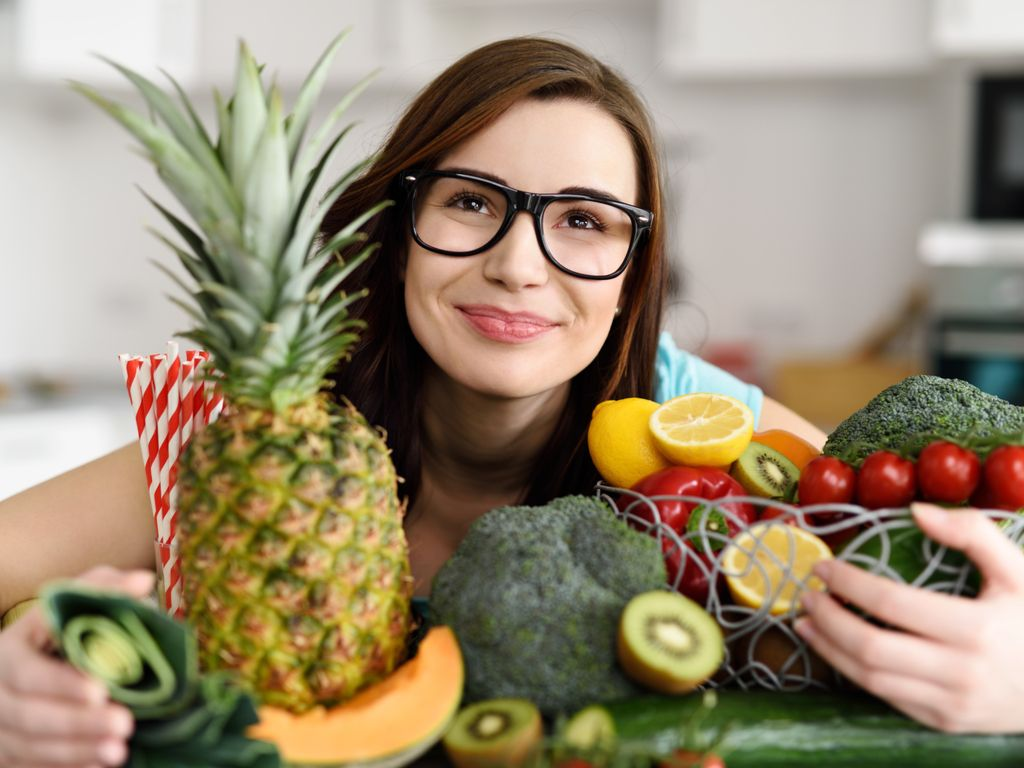 How depressed can be lighter by healthy food?