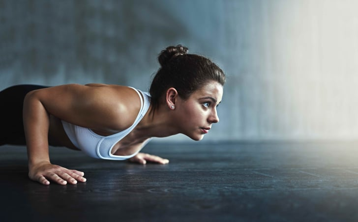 Lose upper arms easily with Push-up